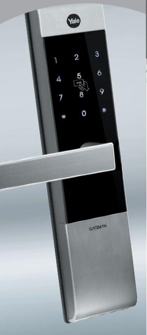 Premium Finger Print Digital Door Lock With Anti Panic